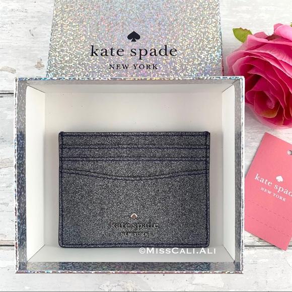 Kate Spade Small Slim Card Holder - Gift Box